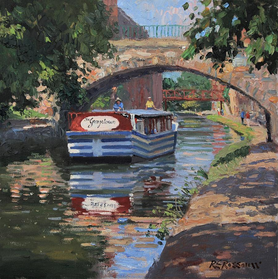Boat Painting - The Georgetown by Roelof Rossouw
