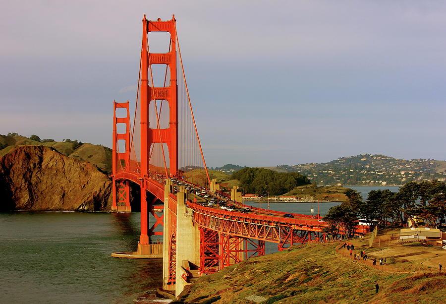 The Famous Golden Gate Bridge In San Francisco California Photograph