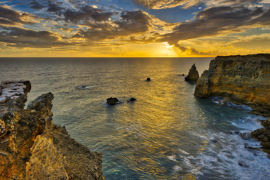 The Golden Hour - Cabo Rojo - Puerto Rico by Photography By Sai