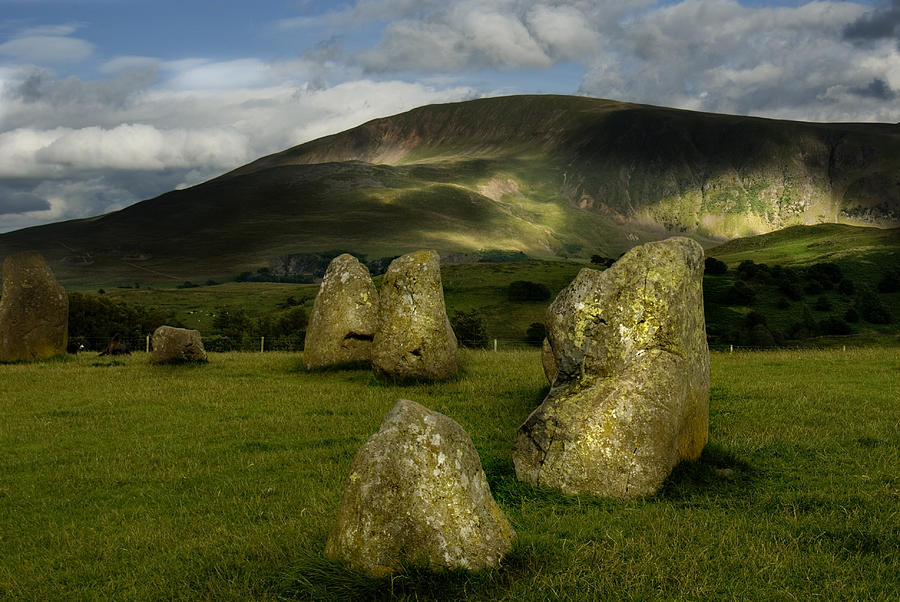The Golden Stones Photograph by Peter Jenkins