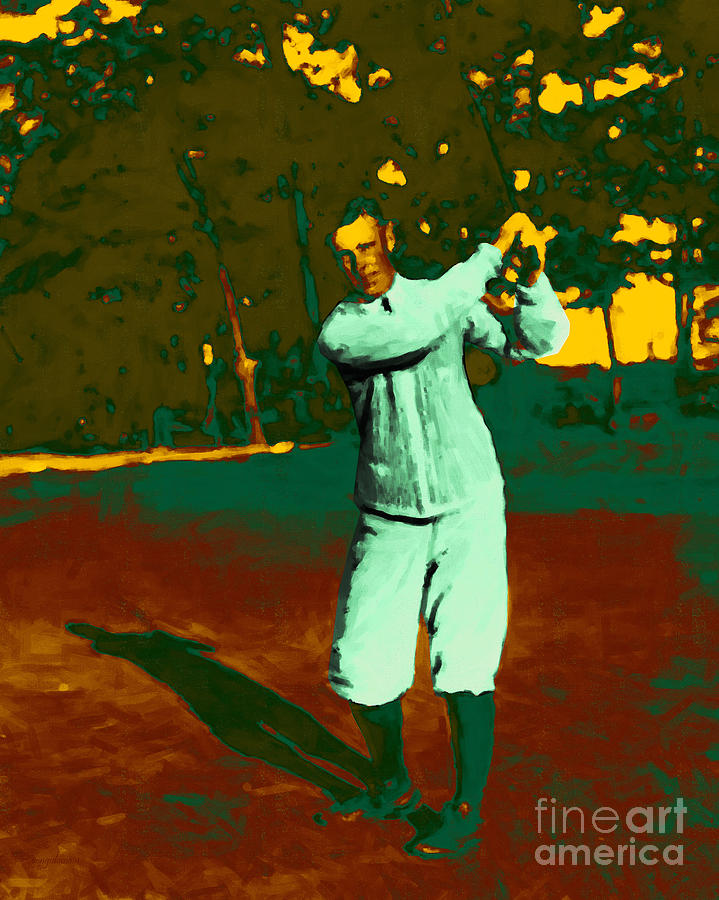 Sport Photograph - The Golfer - 20130208 by Wingsdomain Art and Photography