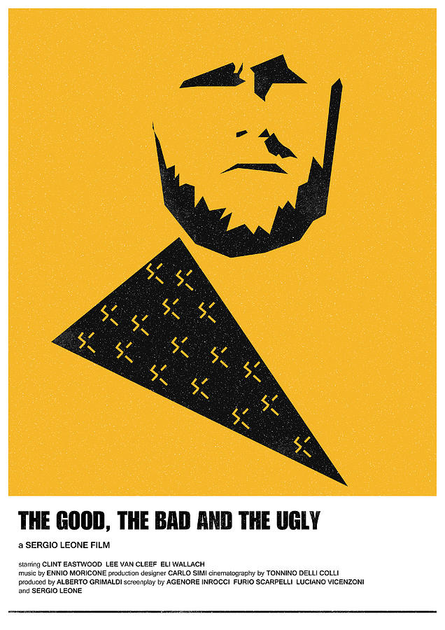 the good bad ugly clint eastwood poster by IamLoudness Studio