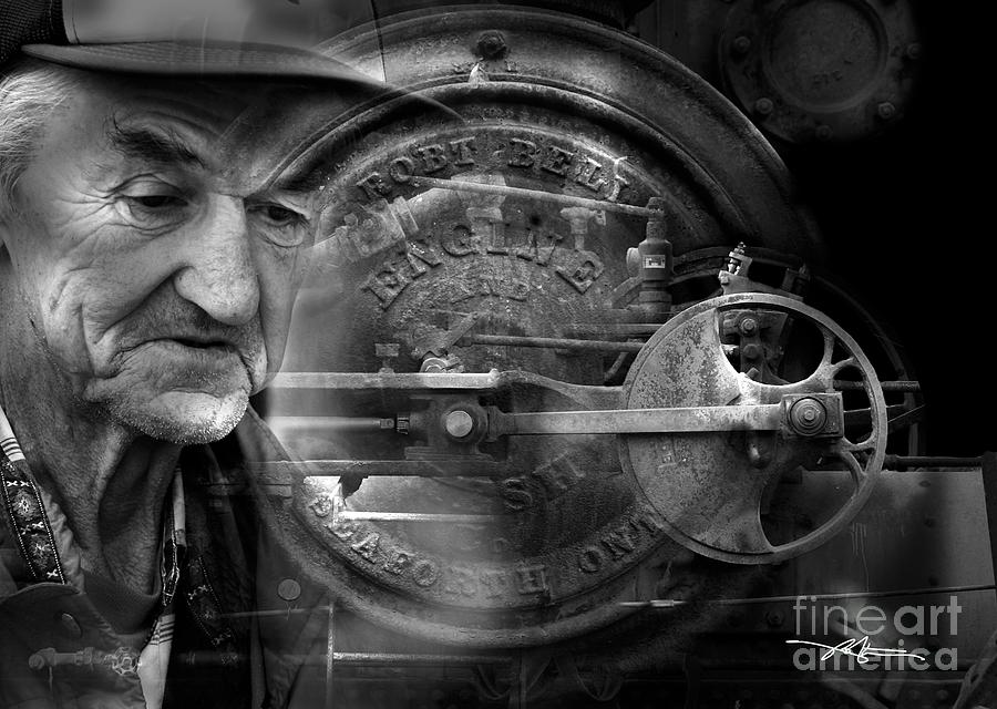 Steam Engine Photograph - The Good Old Days by Bob Salo