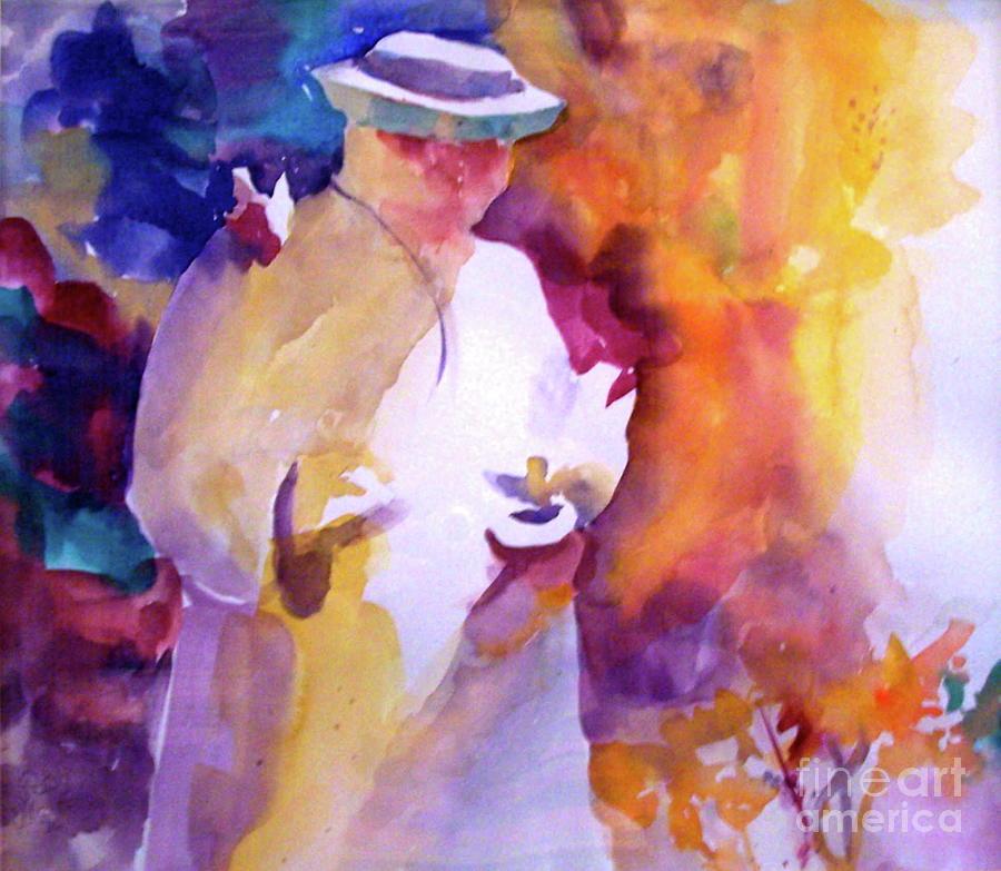 St. Francis Painting - The Good Saint by Patsy Walton
