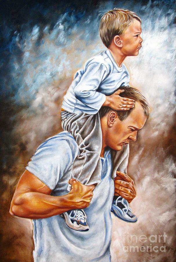 Christian Painting - The Good Shepherd by Ilse Kleyn