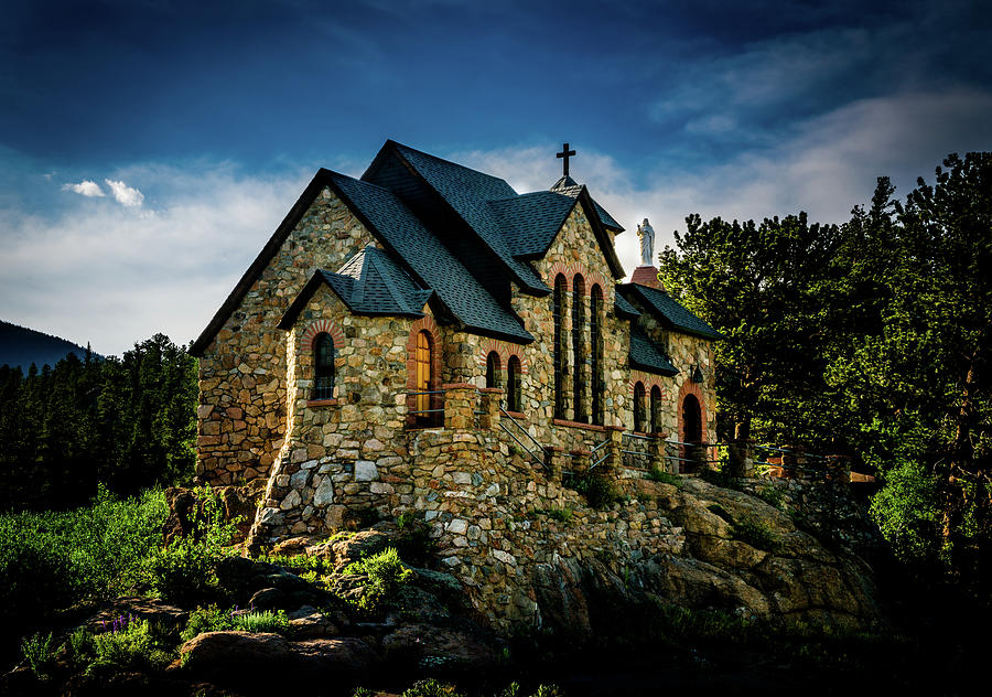 Chapel Photograph - The Good Shepherd by TL Mair