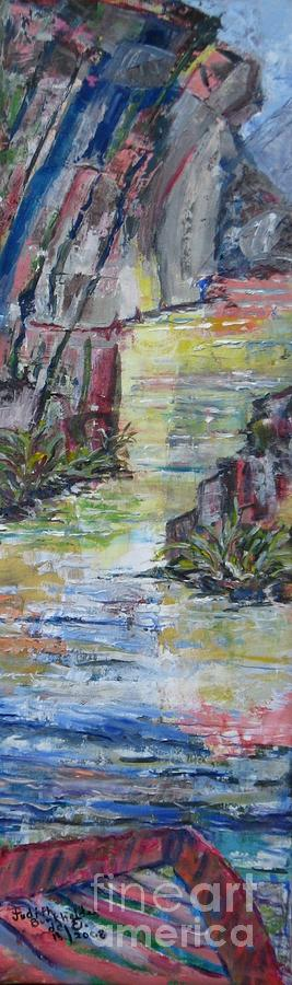 River Painting - The Gorge by Judith Espinoza