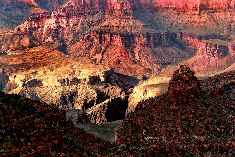 Rocks Photograph - The Grand Canyon I by Tom Prendergast