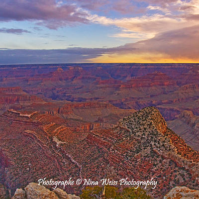 Grand Canyon Photograph - The Grand Canyon In The Morning by Nina Weiss
