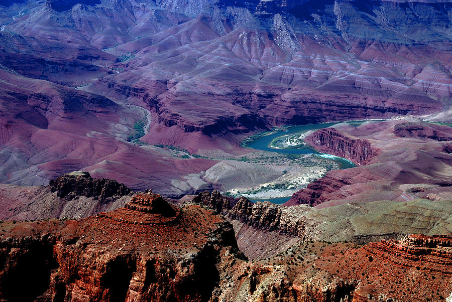 Landmarks Photograph - The Grand Canyon by Susanne Van Hulst