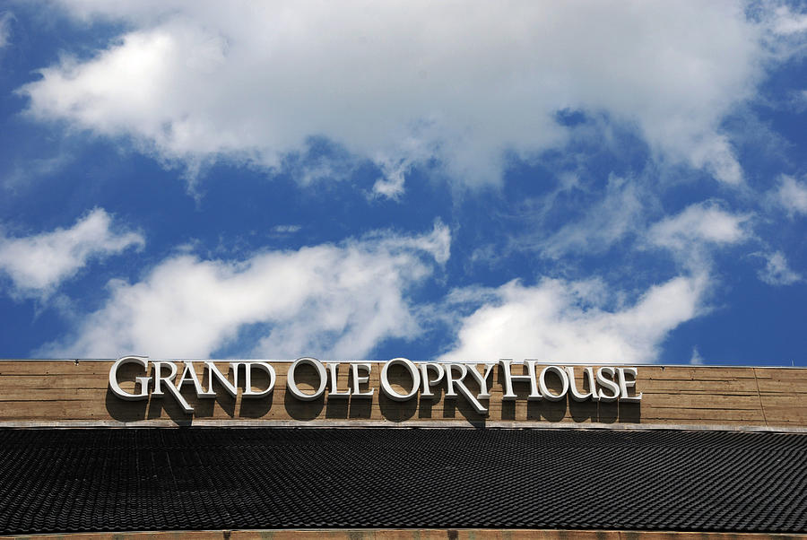 Grand Ole Opry House Photograph - The Grand Ole Opry Nashville Tn by Susanne Van Hulst