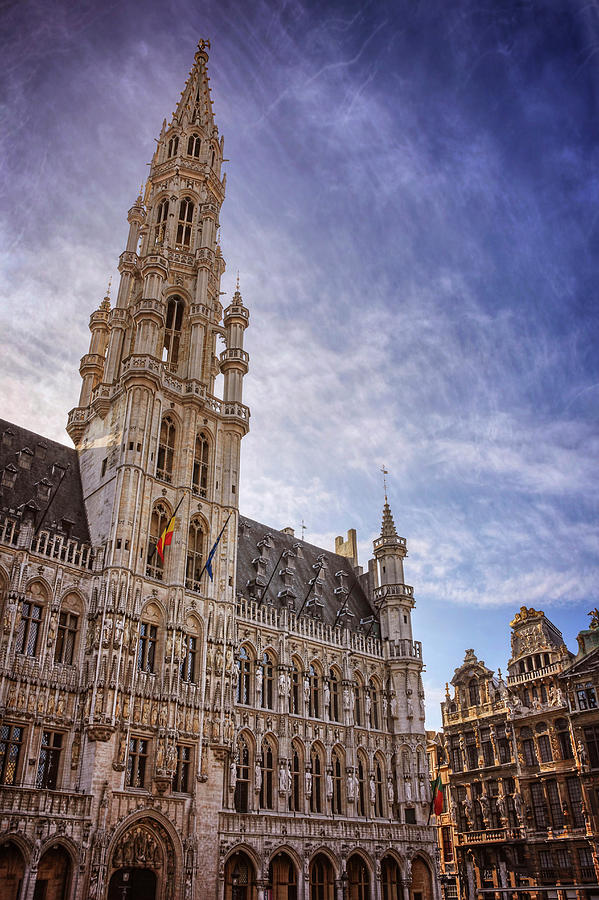 Brussels Photograph - The Grandeur Of The Grand Place Brussels  by Carol Japp