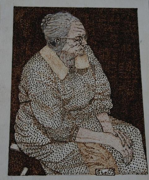 Landscape Painting - The Granny by Steven Steven
