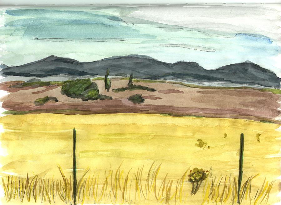 Kevin Callahan Painting - The Great Basin Utah by Kevin Callahan
