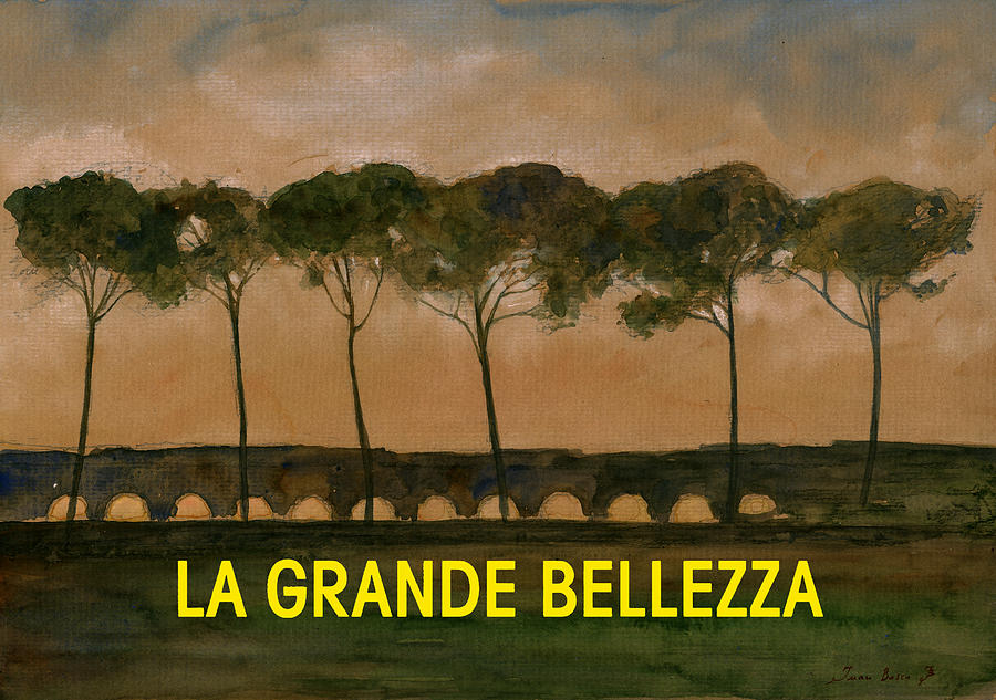 The Great Beauty Painting - The great beauty poster film by Juan  Bosco
