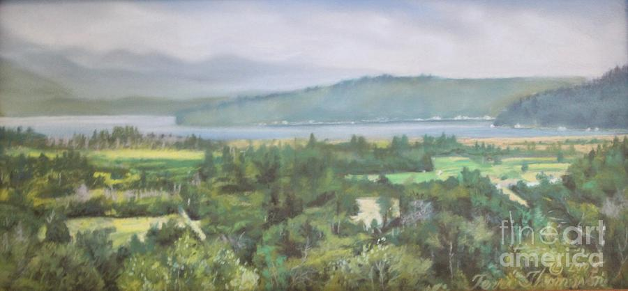 Great Bend Painting - The Great Bend by Terri Thompson