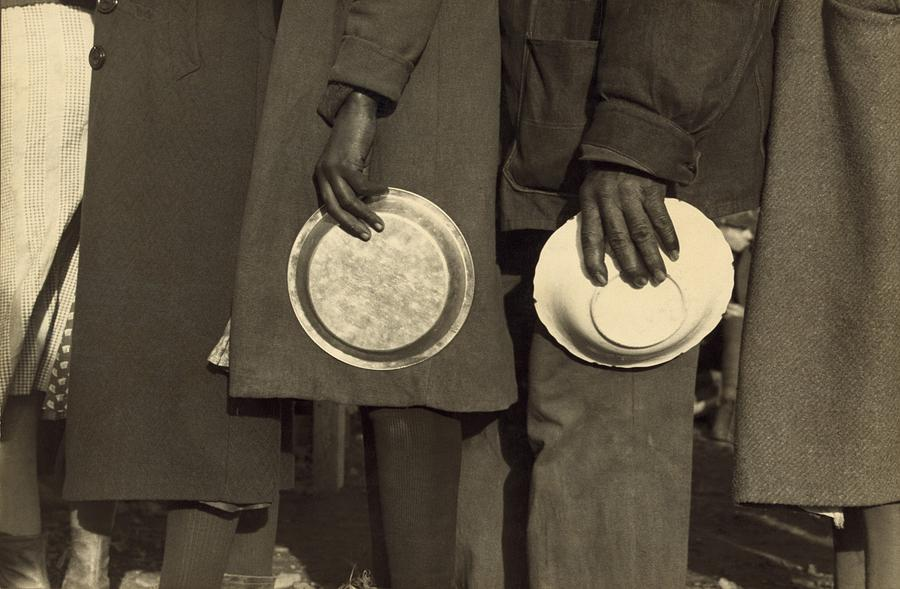 History Photograph - The Great Depression. African Americans by Everett