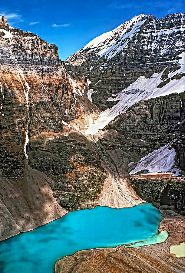 Canadian Rockies Photograph - The Great Divide by Steve Harrington