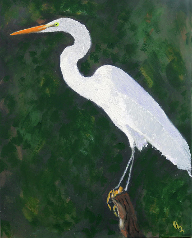 The Great Egret by Deborah Boyd