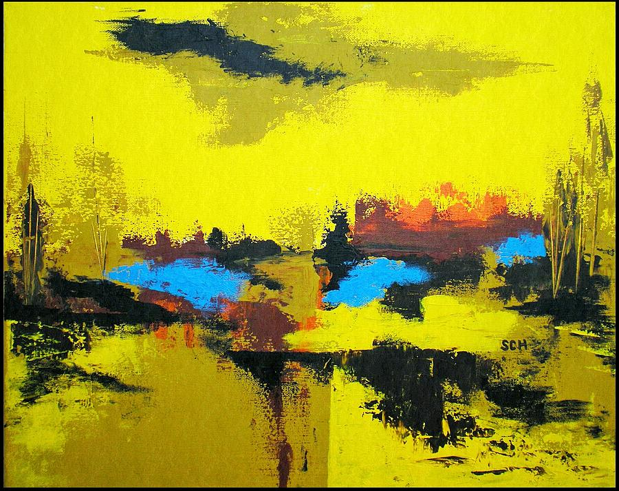 Abstract Painting - The Great Outdoors by Scott Haley