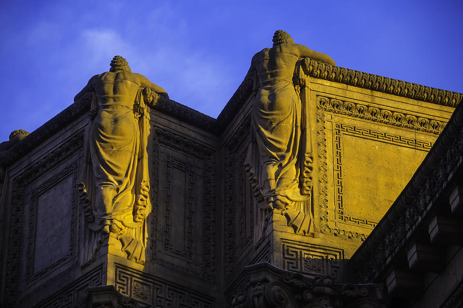 Palace Of Fine Arts Photograph - The Great Palace Of Fine Arts by Garry Gay
