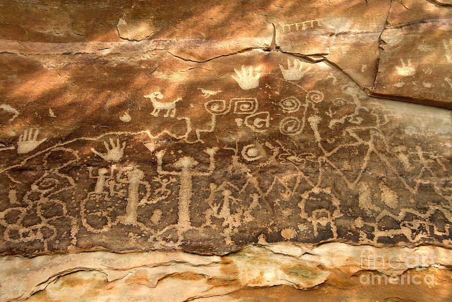 Anasazi Photograph - The Great Panel by David Lee Thompson