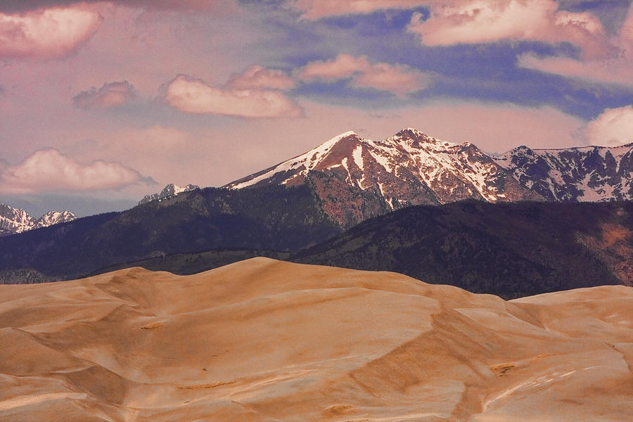 The Great Sand Dunes And Sangre De Cristo Mountains Photograph by James BO  Insogna
