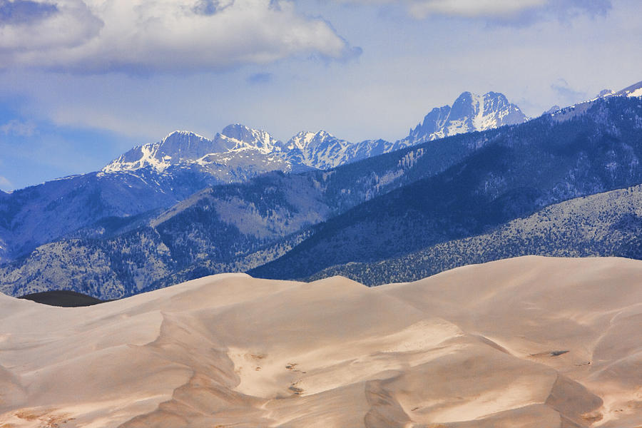 The Great Sand Dunes Color Print 45 Photograph by James BO  Insogna