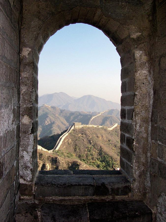 The Great Wall Photograph - The Great Wall by Leslie Brashear