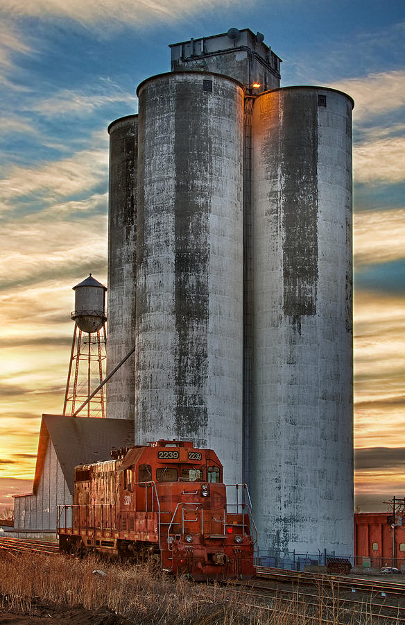 The Great Western Sugar Mill Longmont Colorado Photograph by James ...
