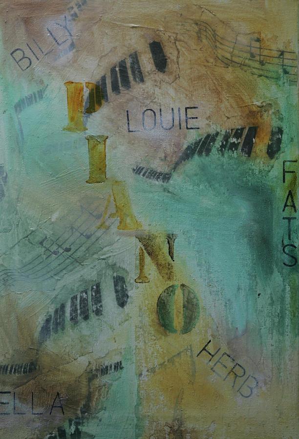 Jazz Mixed Media - The Greats by Robin Lee