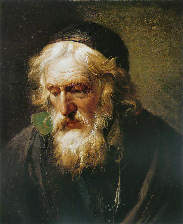 Canvas Prints Painting - The Greek Priest by Francois-Andre Vincent