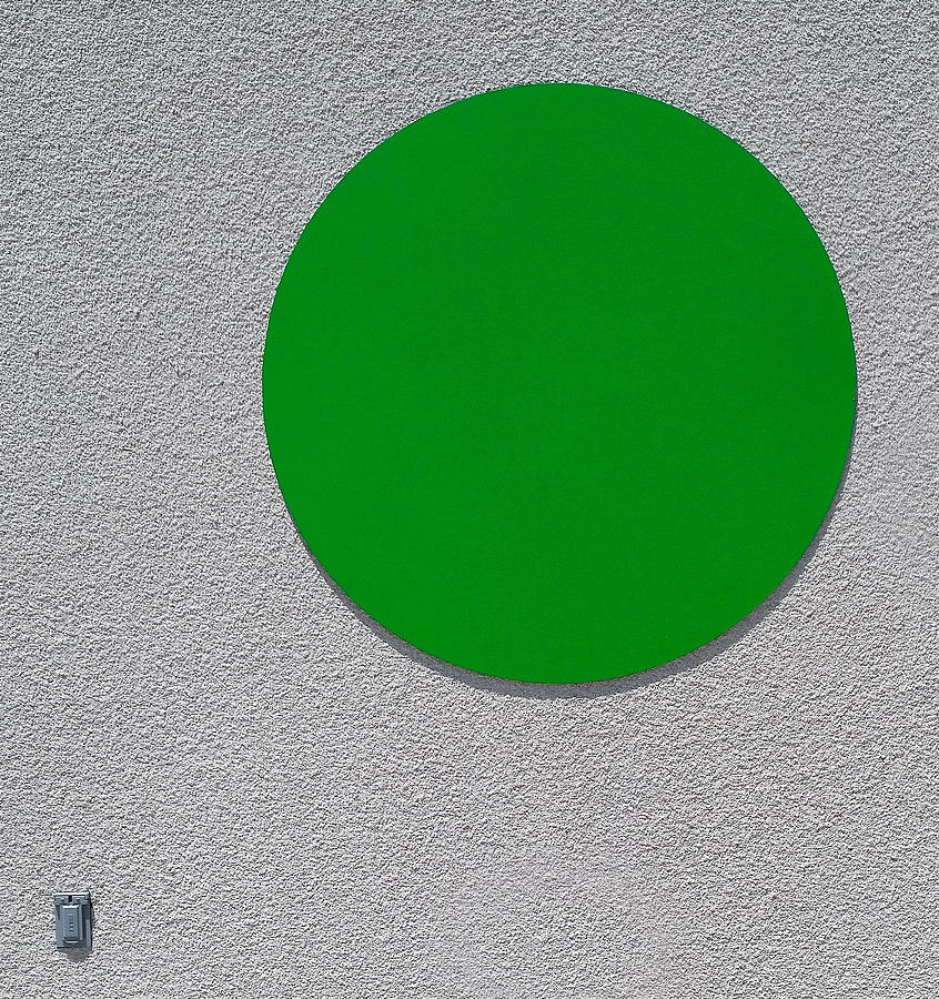 The Green Dot by Wayne Wood