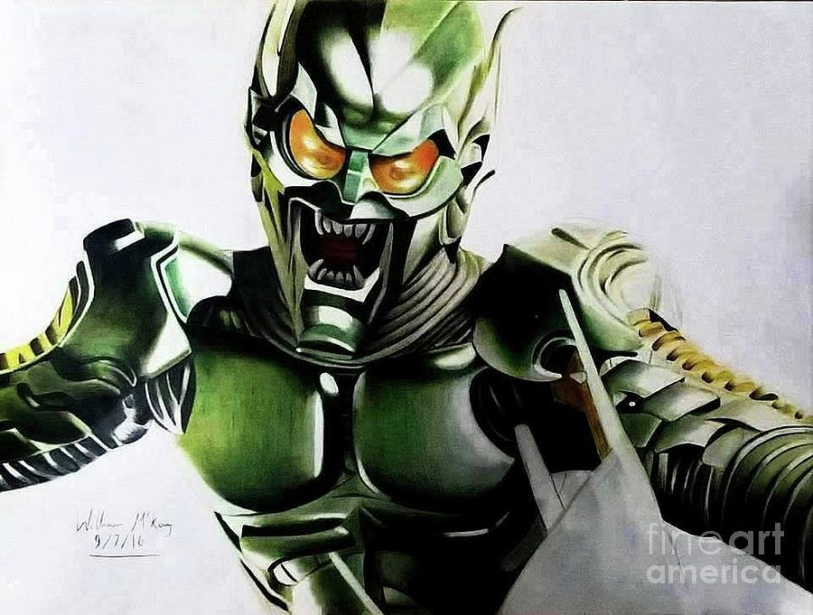 the green goblin drawing by william mckay