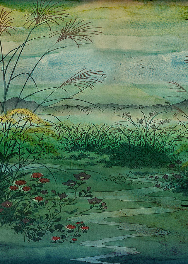 The Green, Green Grass of Home Digital Art by Sarah Vernon