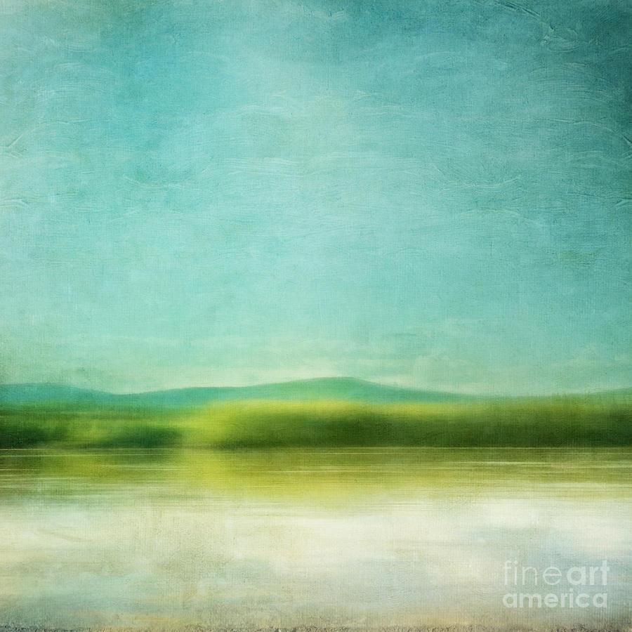 Spring Green Photograph - The Green Haze by Priska Wettstein