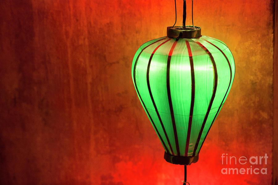 Hoi An Photograph - The Green Lantern by Timm Chapman