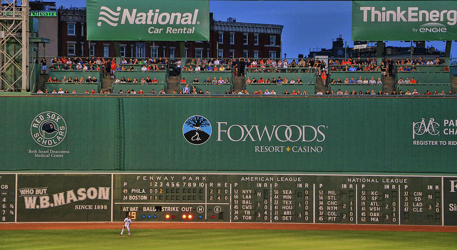 The Green Monster Fenway Park Photograph By Allen Beatty
