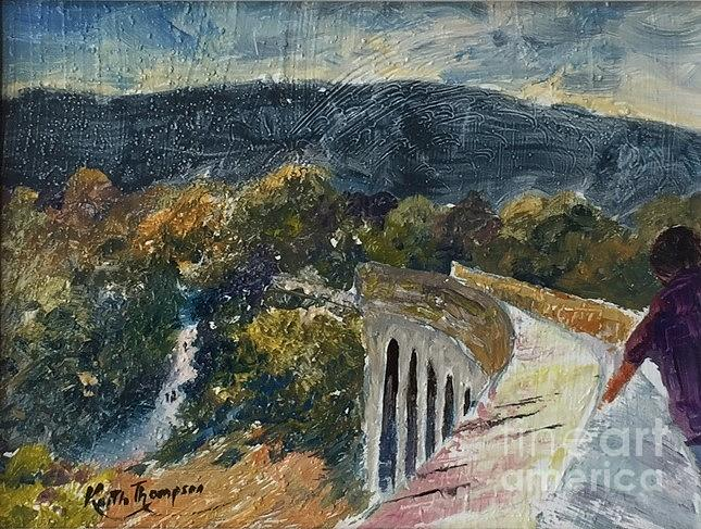 The Greenway Viaduct at Kilmacthomas, County Waterford by Keith Thompson
