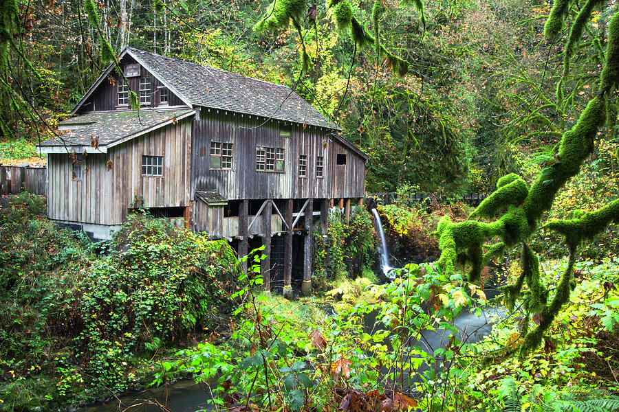 The Grist Mill, Amboy Washington by Hans Franchesco