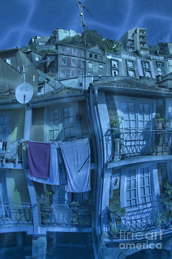 The Groggy Blue House Photograph