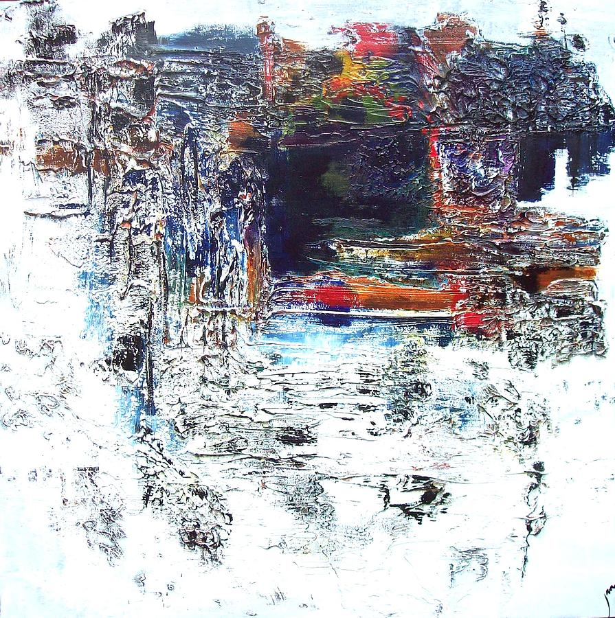 Modern Painting - The Grotto by Jane Robinson