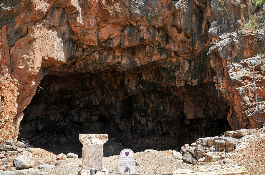 Grotto Photograph - The Grotto Of The God Pan by Shay Levy