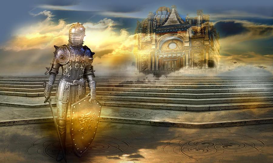 The guardian of the celestial palace Photograph by Desislava Draganova