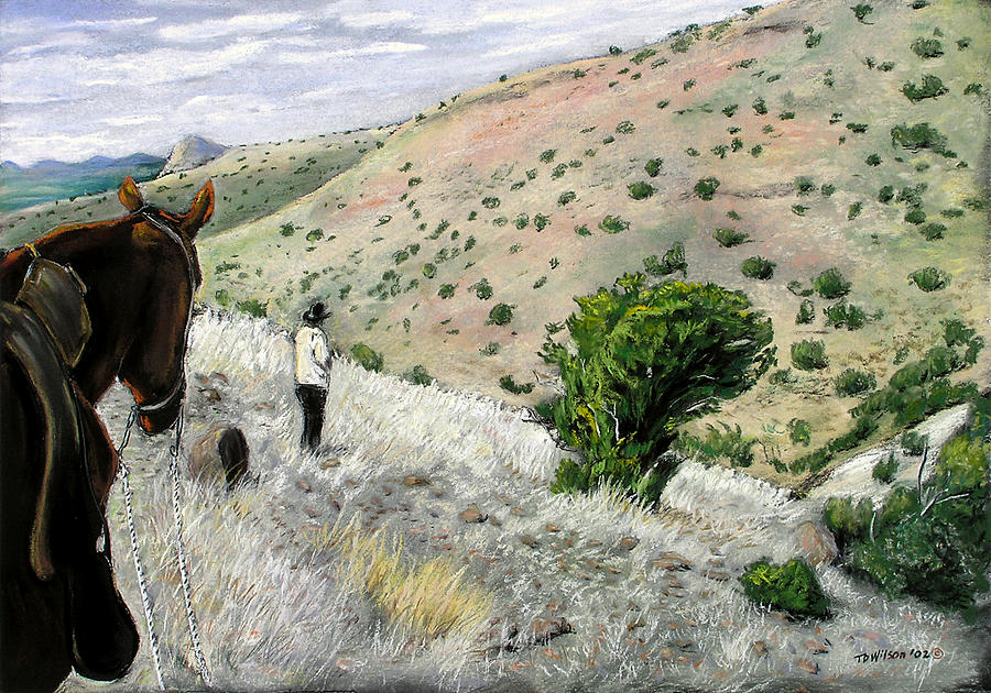Horse Pastel - The Guide by TD Wilson