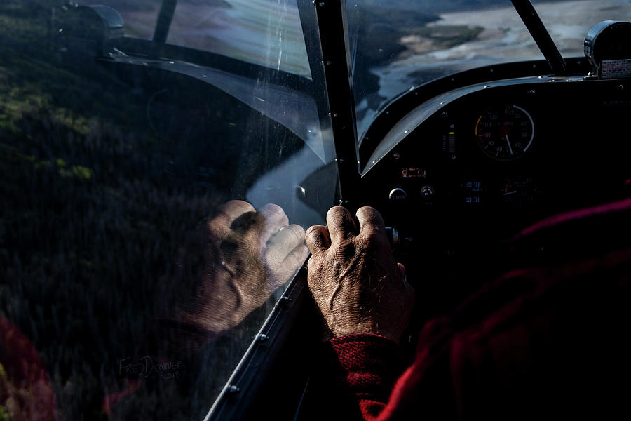 Alaska Photograph - The Guiding Hand by Fred Denner