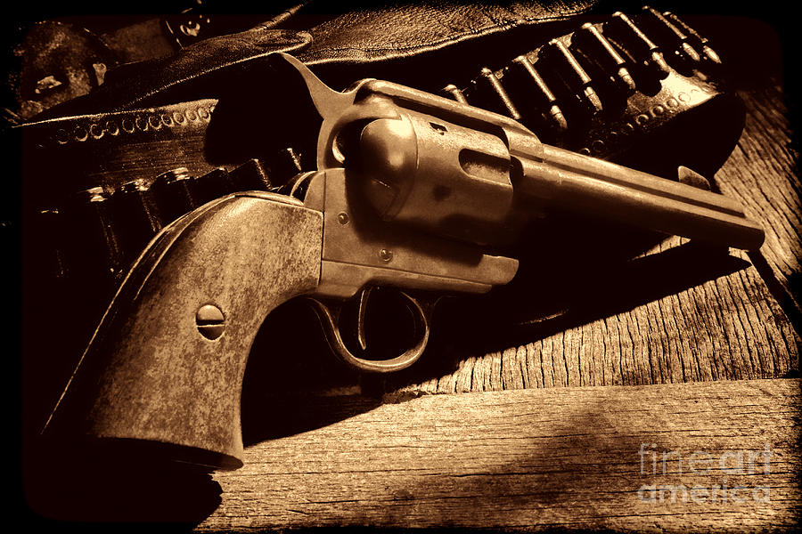 The Gun that Won the West by American West Legend By Olivier Le Queinec