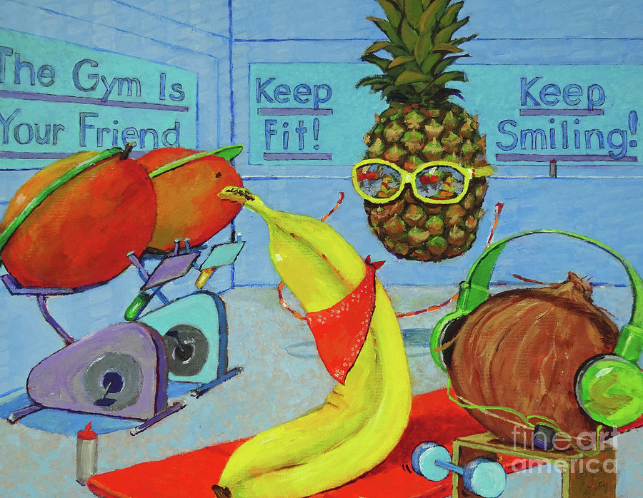 The Gym Is Your Friend by Joan Coffey