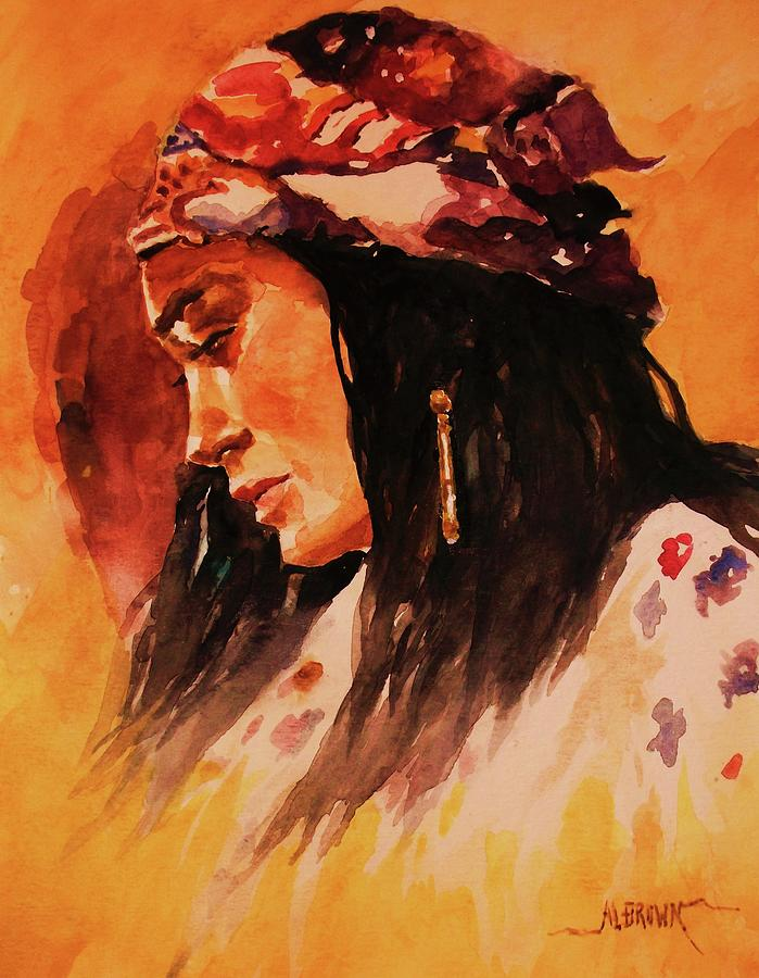 Gypsy Woman by Al Brown