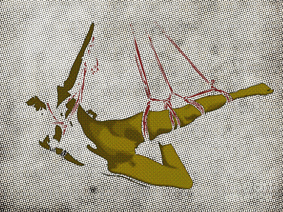 Bdsm Digital Art - The Hanging Girl I by Sandra Hoefer